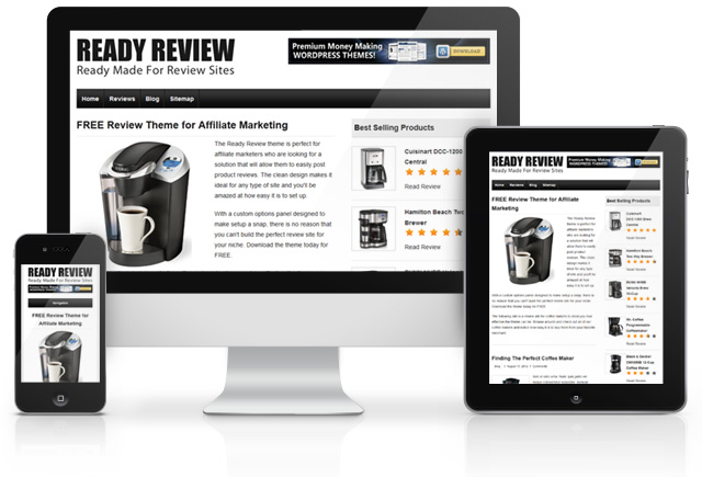 Ready Review Free Theme