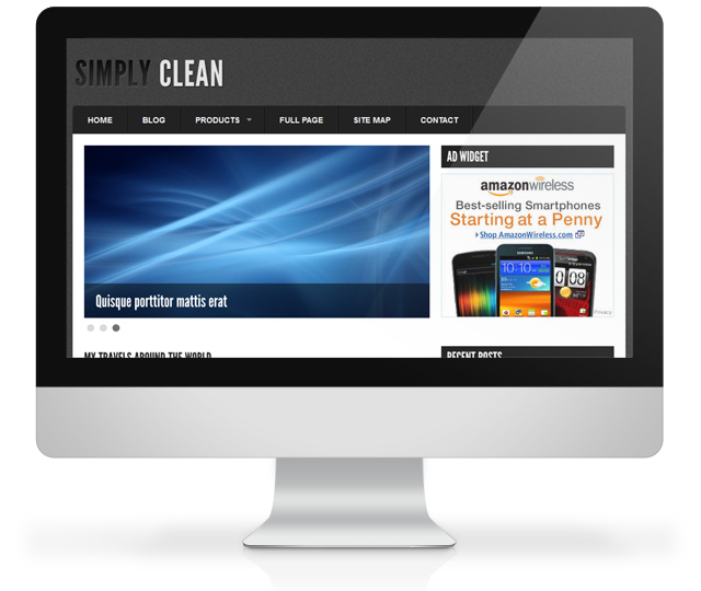 Simply Clean WordPress Theme
