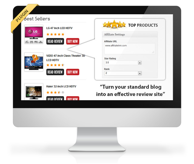 Top Rated Products Plugin