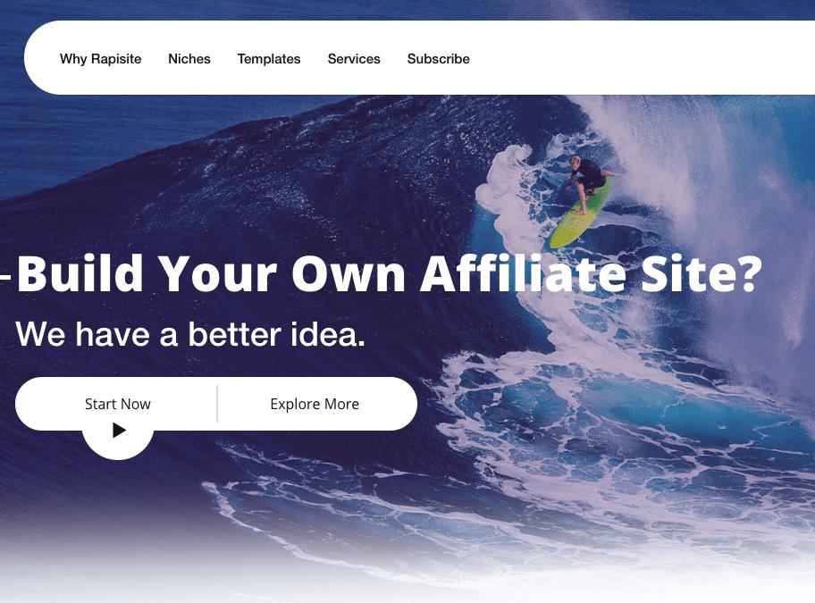 Rapisite – Affiliate Marketing Platform