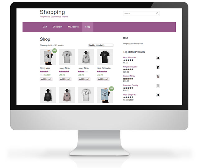 Storefront from WooCommerce